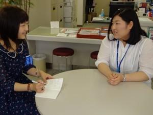 キャリアサポート室の松井さん
